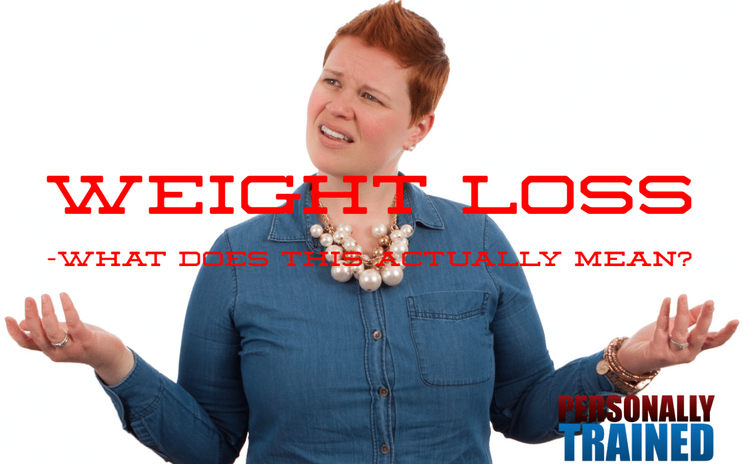 Weight loss – what does this mean?