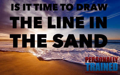 Is it time to draw a line in the sand
