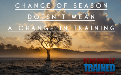 Change of seasons doesn't mean a change in training
