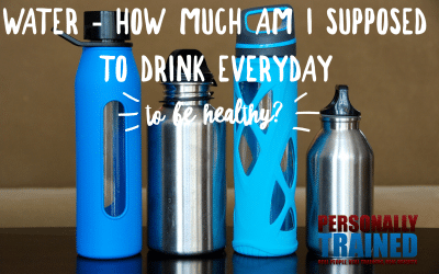 Water – how much am I supposed to drink every day to be healthy?